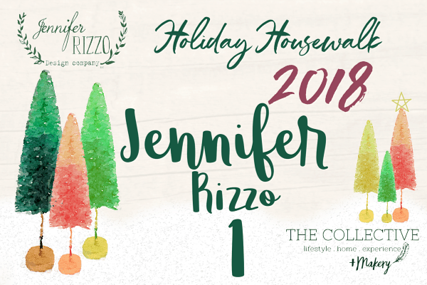 Jennifer Rizzo holiday housewalk 2018