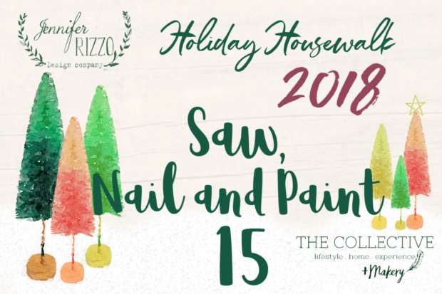 Saw Nail and Paint Holiday Housewalk 2018