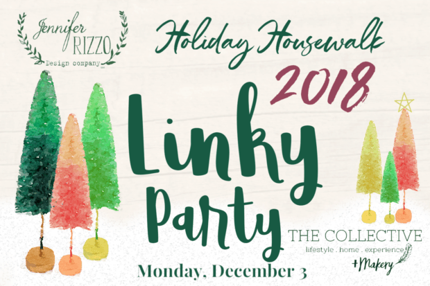 Jennifer Rizzo Linky Party be on next year's housewalk