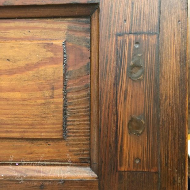 Old door from thee restore for a sliding door Jennifer Rizzo
