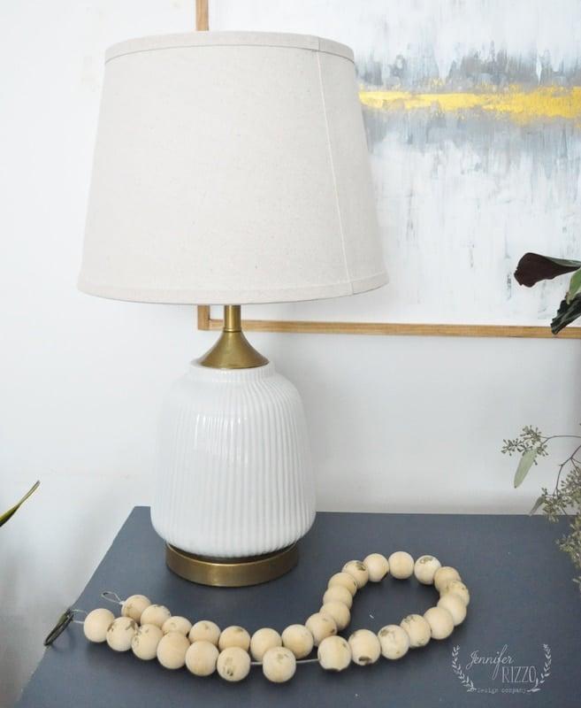 Paint a Metal Lamp Base