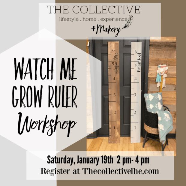 Watch me grow ruler painting workshop