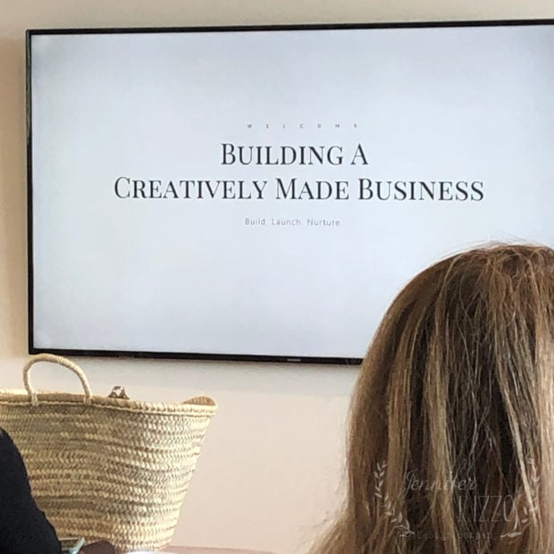 Jeanne Oliver Building a Creatively Made Business Palm Springs 2019