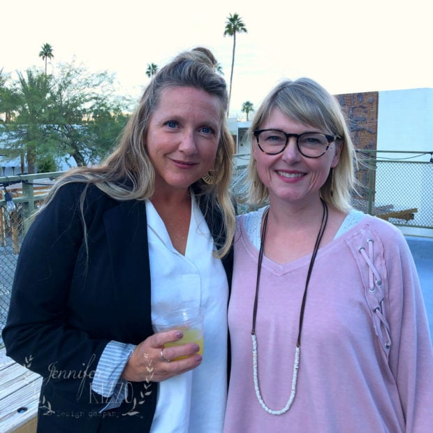Jeanne Oliver and Jennifer Rizzo Creatively Made Business Palm Springs