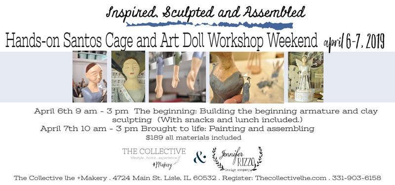 Santos and Art Doll Live Workshop