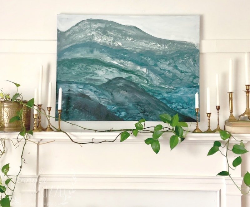 Painting Abstract Art With Air