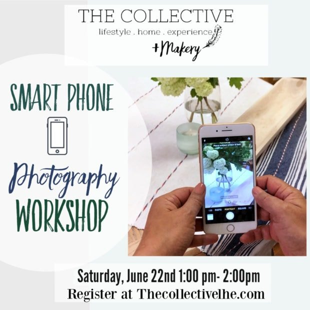Smart phone photography workshop at The collective lhe in Lisle