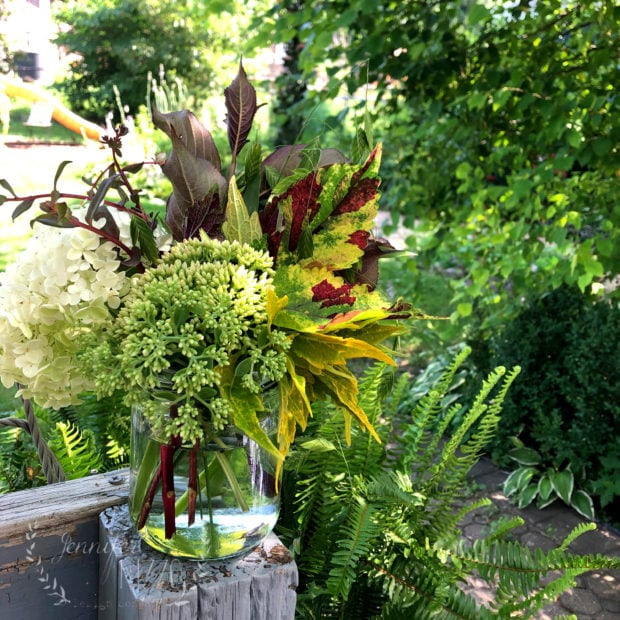 Bouquet with Plants that will grow roots