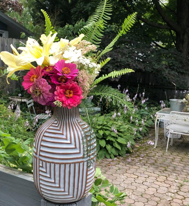Head Outside and Make Backyard Bouquets