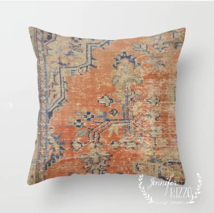 Fall Pillows and Pumpkin Decor on Sale