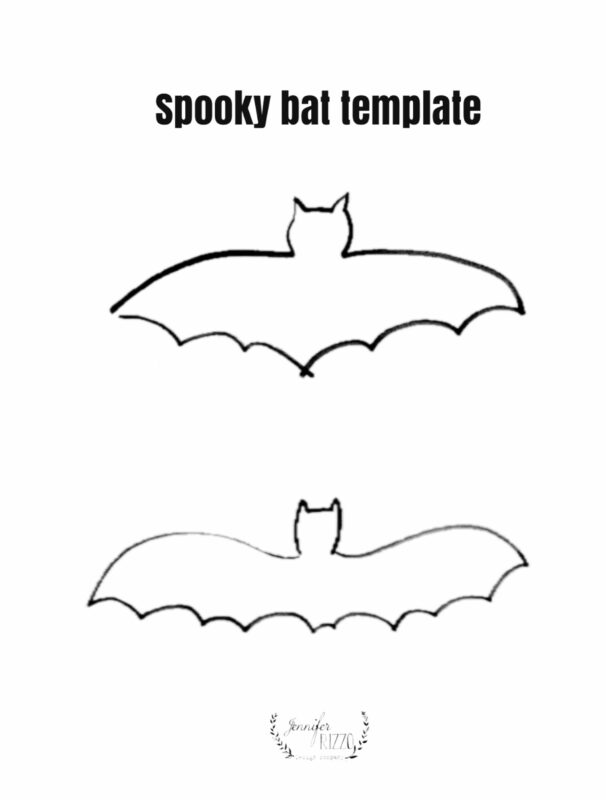 Templates for making paper bats