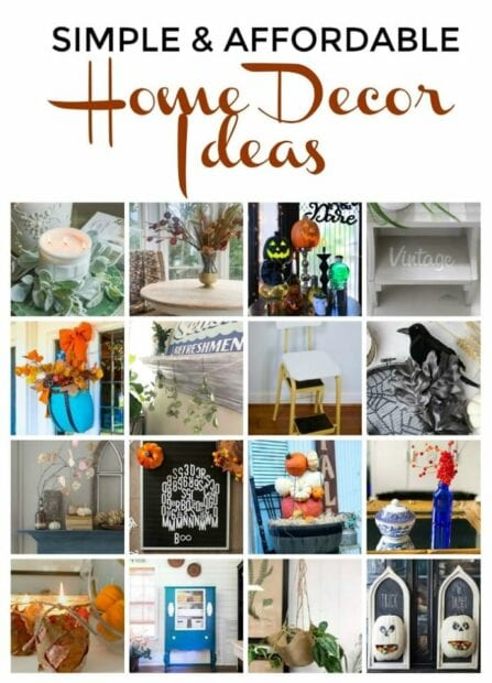 Affordable and thrifty home ideas