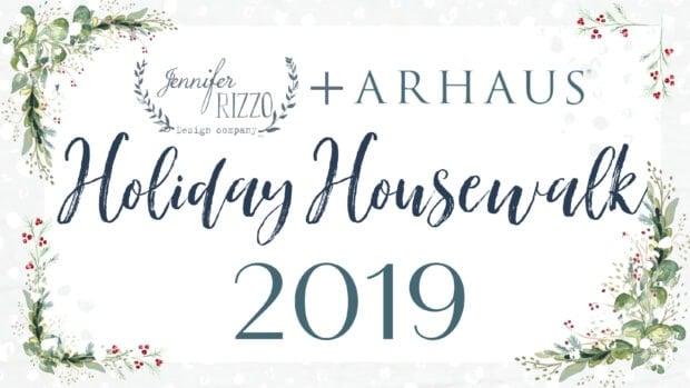 Jennifer Rizzo + Arhaus for the Holiday Housewalk Day 1