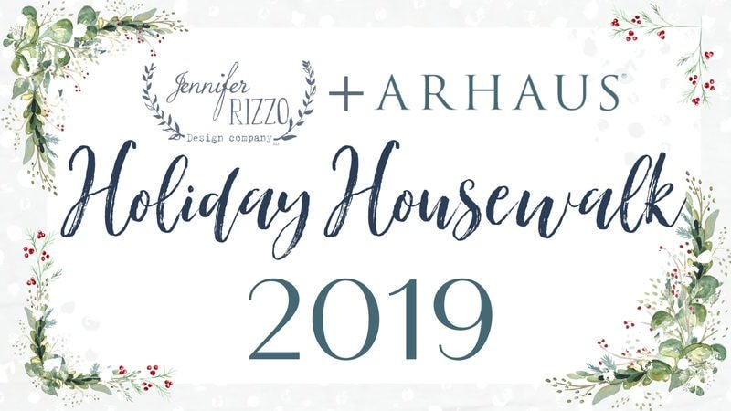 Jennifer Rizzo + Arhaus for the Holiday Housewalk Day 1