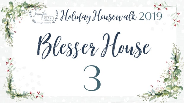 Blesser House Jennifer Rizzo Holiday Housewalk 2019