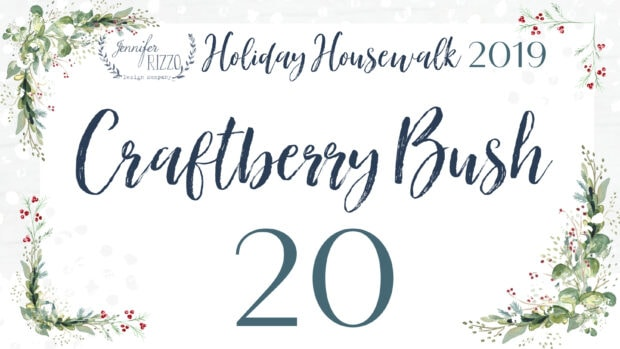 Craftberry Bush Jennifer Rizzo 2019 Holiday Housewalk