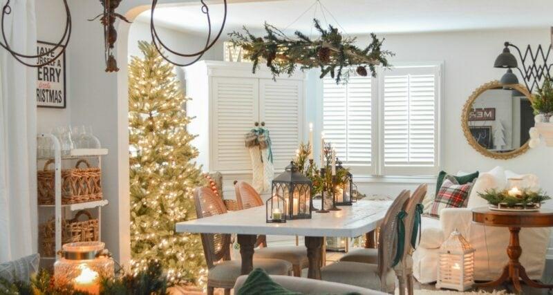 Fox Hollow Cottage Dining Room Jennifer Rizzo Housewalk 2019