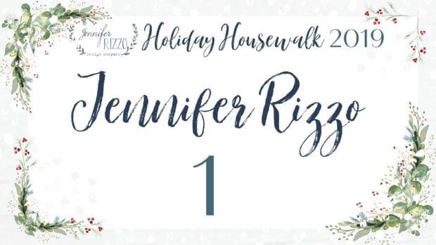 Jennifer Rizzo's Holiday Housewalk and home tour