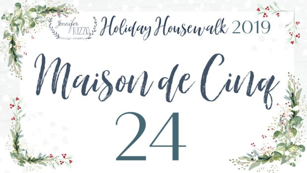 Maison de Cinq holiday housewlak 2019