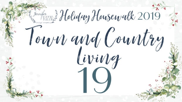 Town and Country Living Holiday Housewalk 2019 Jennifer Rizzo