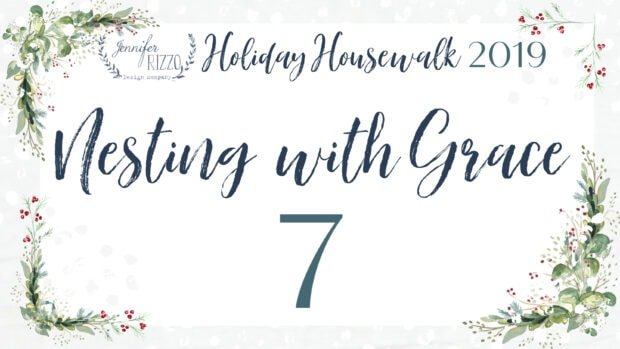 Nesting with grace Jennifer Rizzo Holiday Housewalk 2019