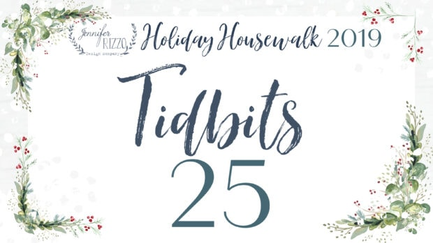 Tidbits Jennifer Rizzo Holiday Housewalk 2019
