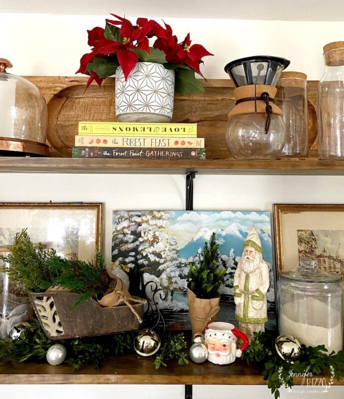 Christmas Shelfie