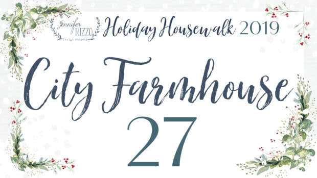 City Farmhouse holiday housewalk