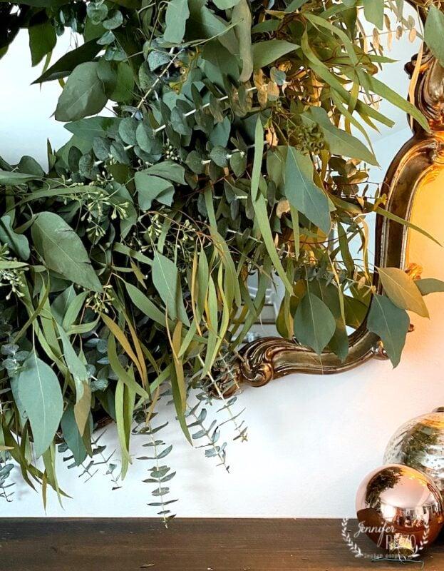 MIxed eucalutpus wreath
