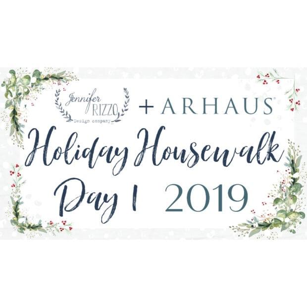 Jennifer Rizzo Holiday Housewalk Day 1
