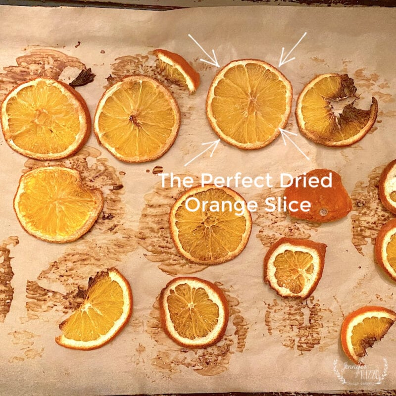 The Perfect DIY Oven Dried Orange Slice