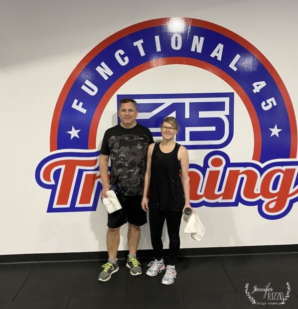 Jennifer Rizzo at F45 Training South Lisle