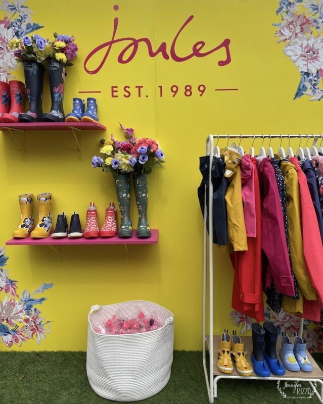 Joules boots display at The Alt Conference