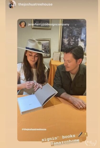 The Joshua Tree House Book signing