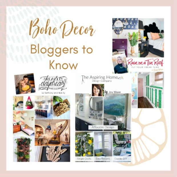 Boho Home Decor Bloggers You Should Know