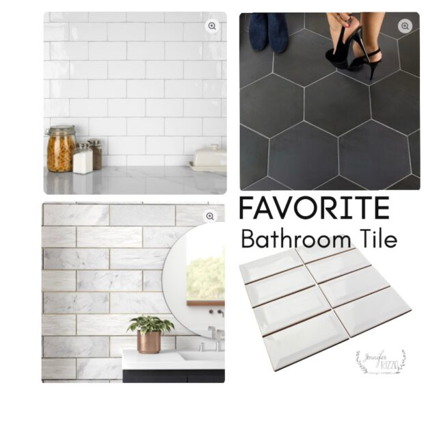 Shop bathroom tile for a clean and modern look