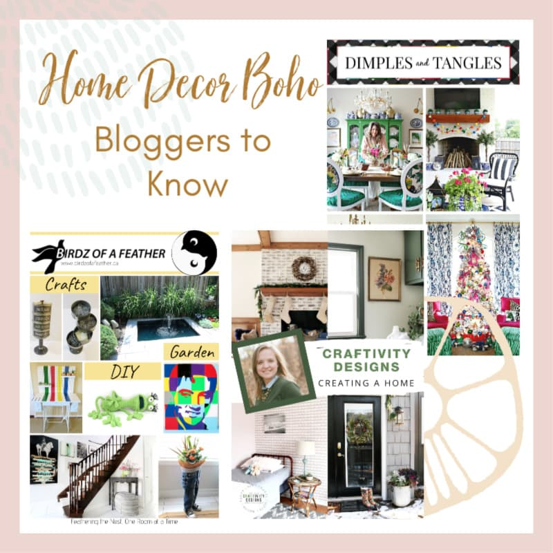 Home Decor Boho-Style Bloggers to Get to Know