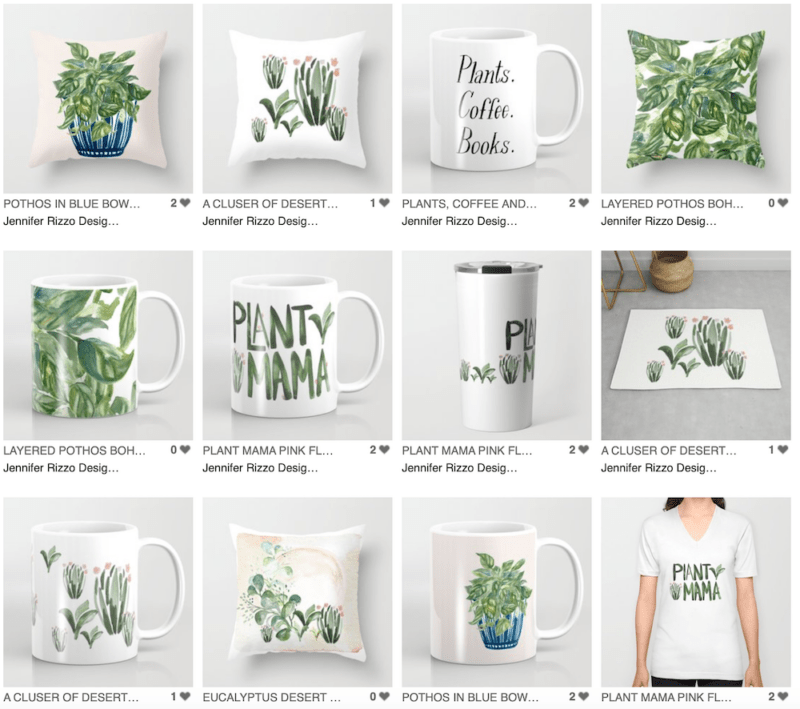The Plant Lovers Collection by Jennifer Rizzo