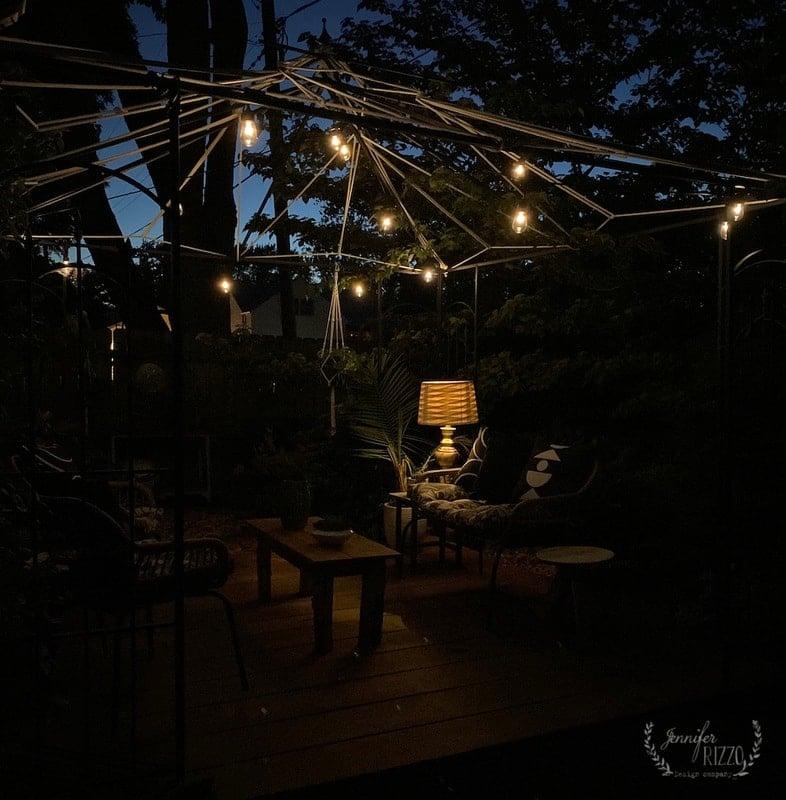 DIY Solar Power Table Lamp