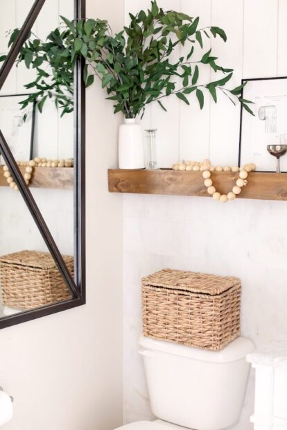 Just Destiny Mag Modern Farmhouse Bathroom