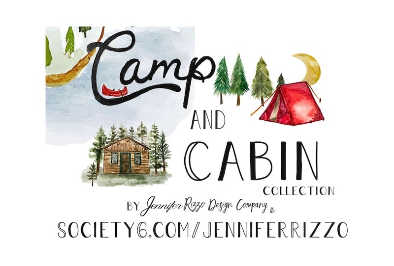The Camp and Cabin Collection by Jennifer Rizzo Design Company