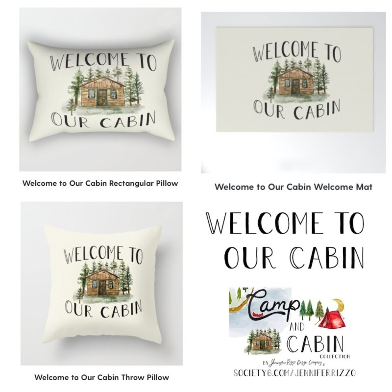 Welcome to our cabin design Jennifer Rizzo