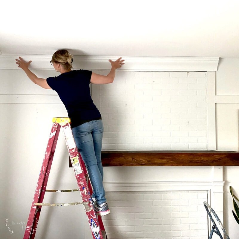 Installing foam crown molding in a living room with Crown Molding Solutions
