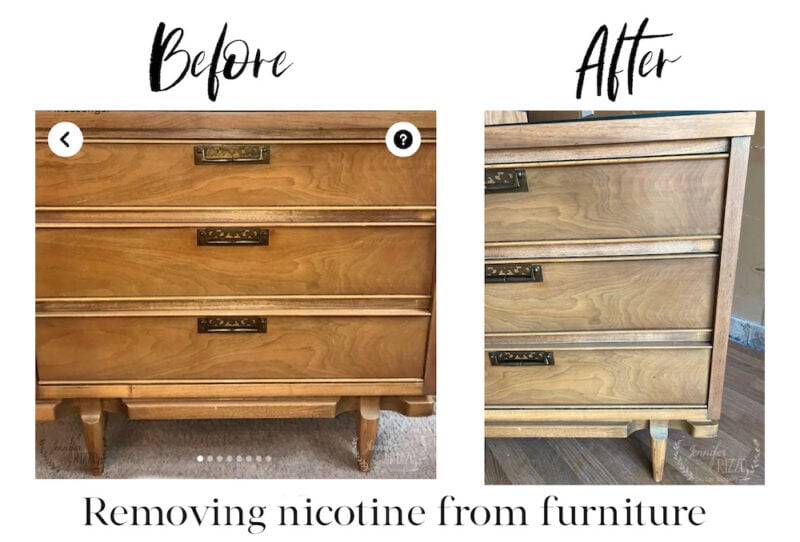 The best way to remove smoky smell from furniture