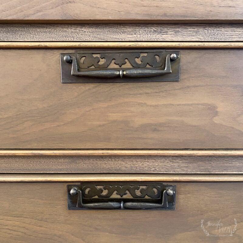 Original MCM dresser handles