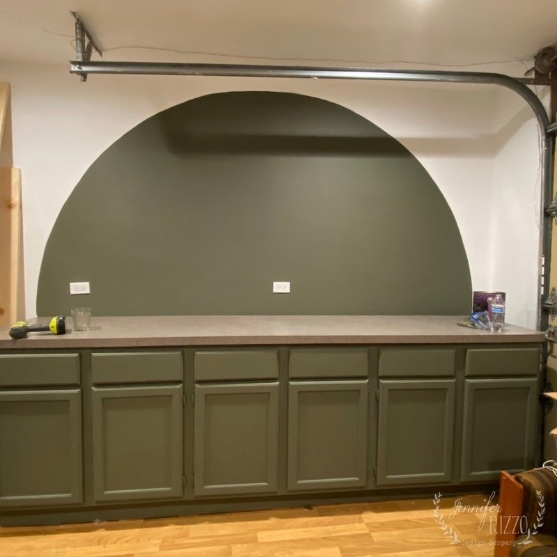 How to Paint an Arch Accent Wall