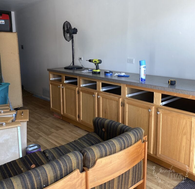 reclaimed cabinets for storage