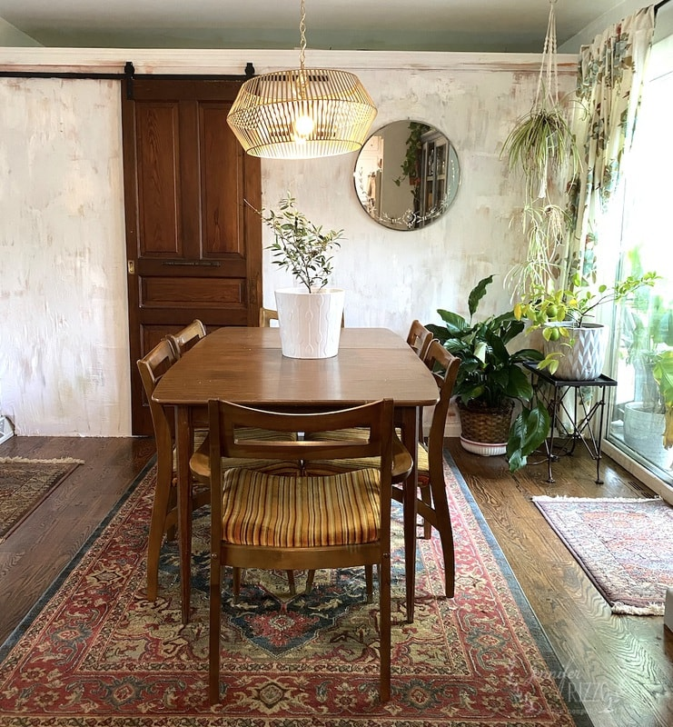Mini Dining Room Makeover