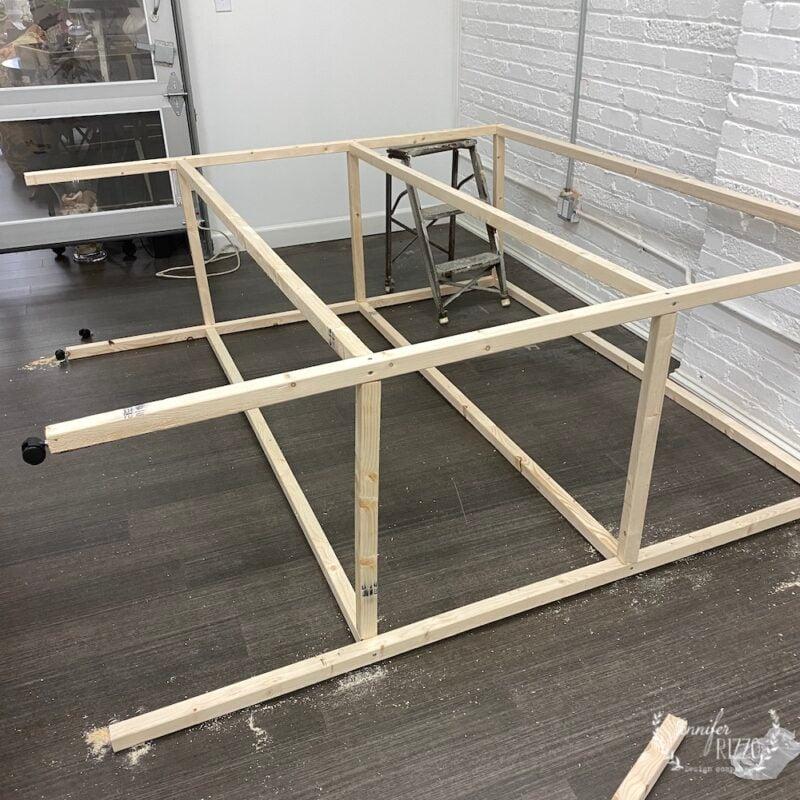 Build a DIY factory cart the frame