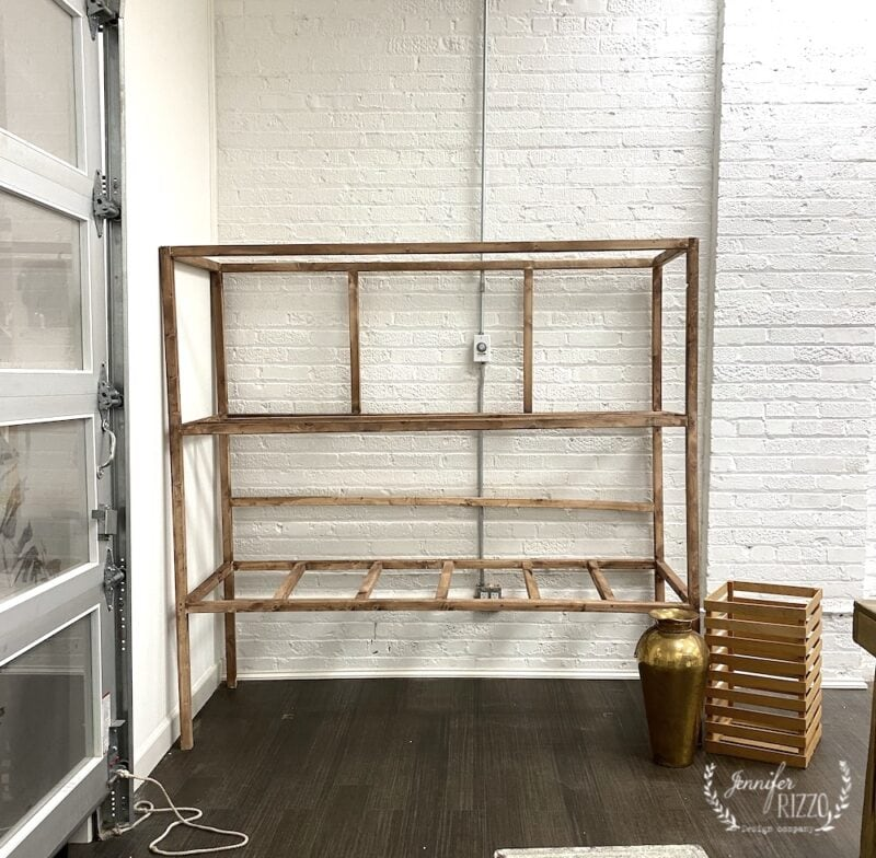Build a vintage inspired facotory cart assembled
